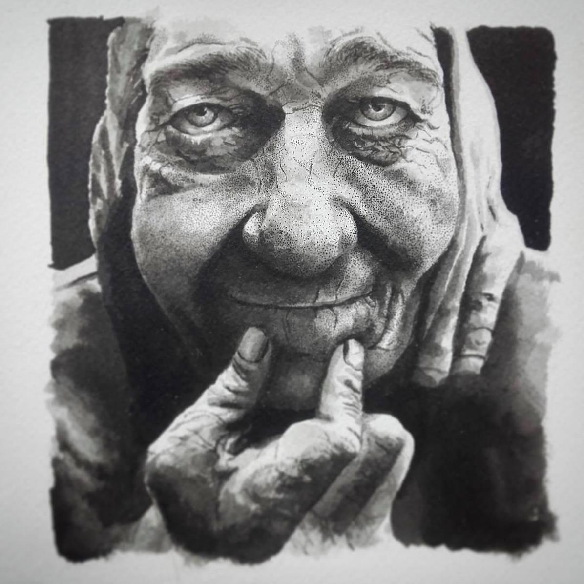 Portraits illustration